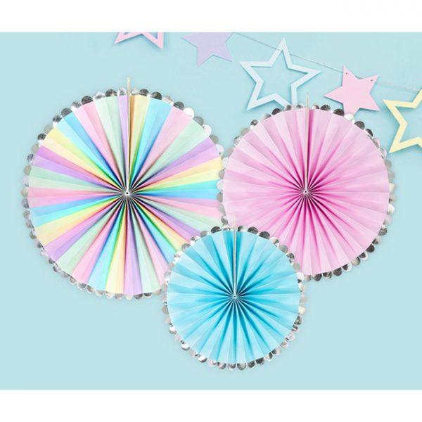 Unicorn Party Fan Decorations