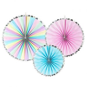 Unicorn Party Fan Decorations