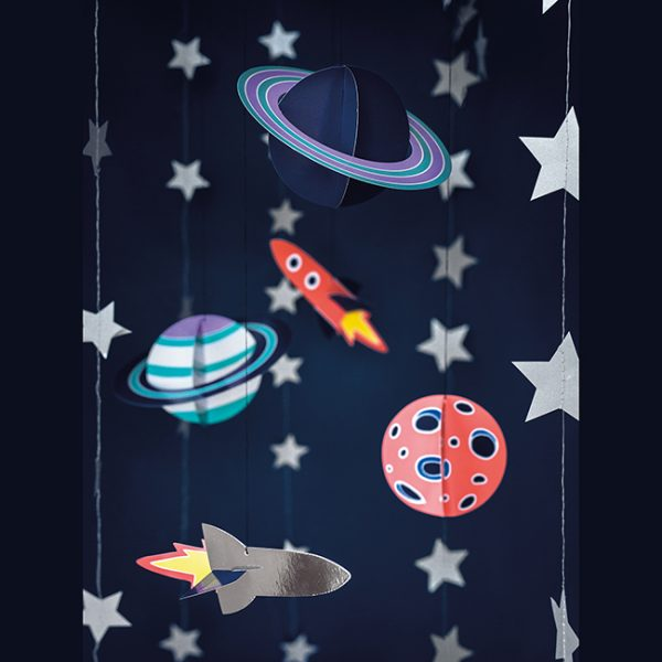 Space Party Hanging Decorations