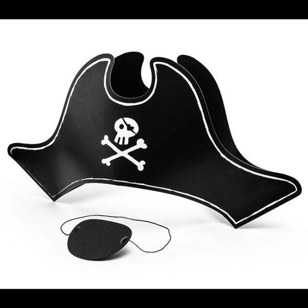Pirate Hat and Eyepatch