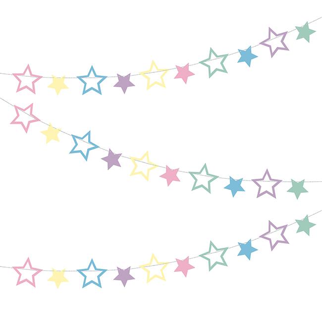 Unicorn Party Stars Garland