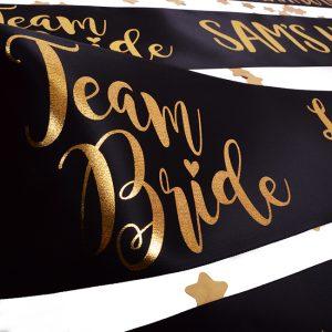 Team Bride Hen Party Banner