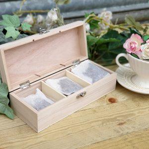 Tea Box Internal View