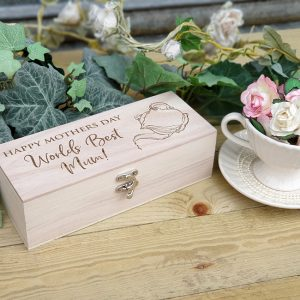 Personalised Tea Box