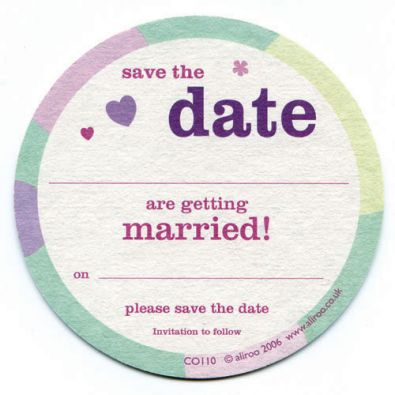 Bells Save the Date Cards