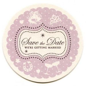 Boudoir Save the Date Card