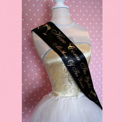 Delux Personalised Sash