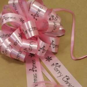 Large Personalised Bow
