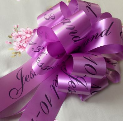 Personalised Handmade Bonnet Bows