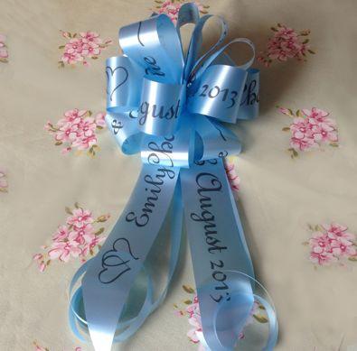 Personalised Handmade Bonnet Bows