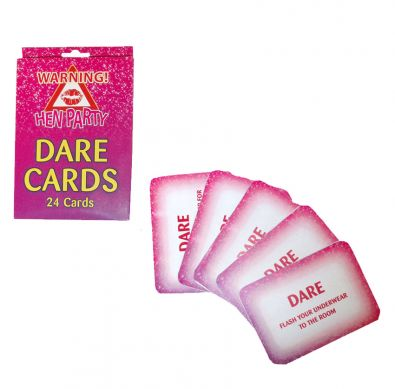Hen Party Dare Cards Game