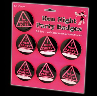 Hen Party Badges
