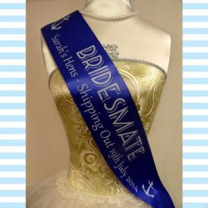 Sailor Theme Hen Night Sashes