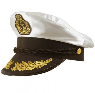 Adult Captains Hat Nautical Hen Party Fancy Dress Accessory