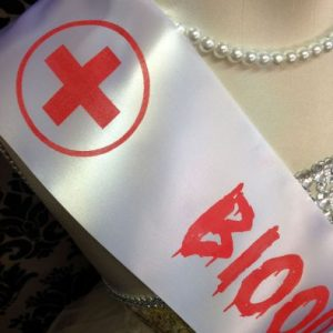 Blood Collector Nurse's Sash