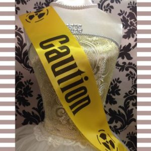 Caution Sash