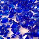Royal Blue Table Crystals