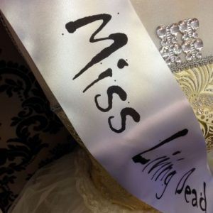 Miss Living Dead Sash