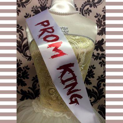 Prom King Sash