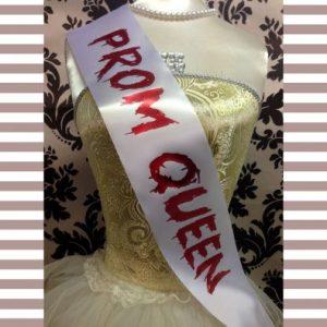 Prom Queen Sash