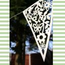 Paper Floral / Butterfly Wedding Bunting