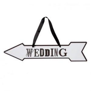 Monochrome Wedding Signs
