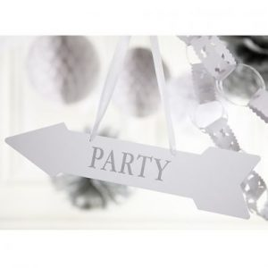 Silver Wedding Signs