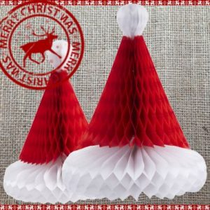 Christmas Honeycombs Set of 2 Hats