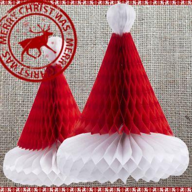 Christmas Honeycombs Set of 2 Hats