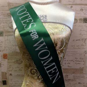 Votes for Women Sash