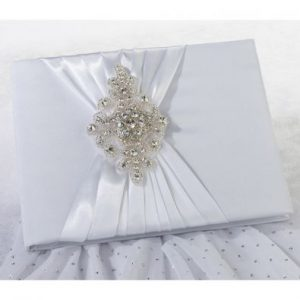 Jewel Motif Guest Book