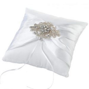 Jewel Motif Ring Cushion