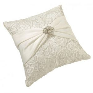Vintage Lace Ring Cushion