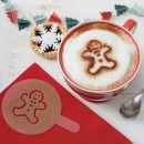 Christmas Hot Chocolate Stencils