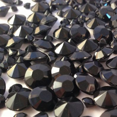 Black Table Crystals