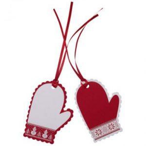 Christmas Mitten Gift Tags