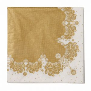 Gold Paper Dinner Napkins