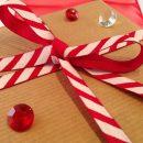 Candy Stripe Christmas Ribbon