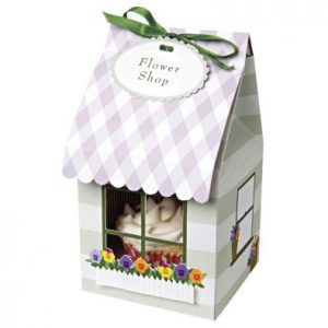 Flower Shop Cupcake Box - Pk 4