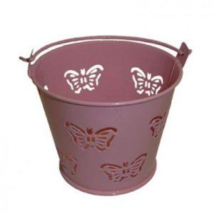 Baby Pink Miniature Butterfly Bucket