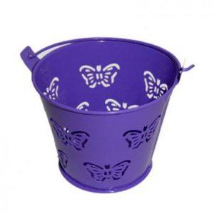 Purple Miniature Butterfly Bucket
