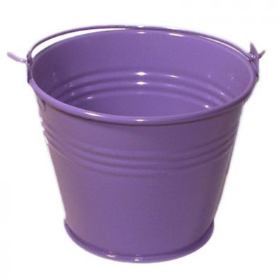 Purple Miniature Bucket
