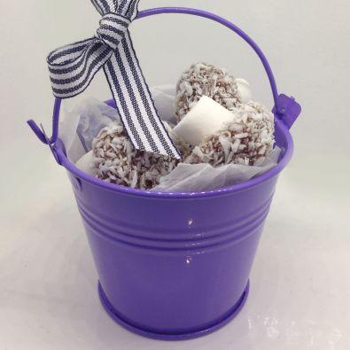 Purple Miniature Bucket