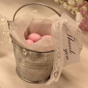Silver Miniature Bucket