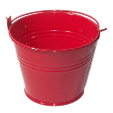 Red Miniature Bucket