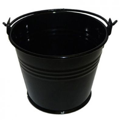 Jet Black Miniature Bucket