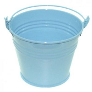 Light Blue Miniature Bucket