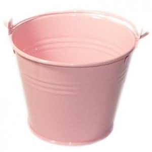 Baby Pink Miniature Bucket