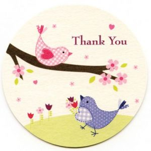 Tweet Thank You Cards