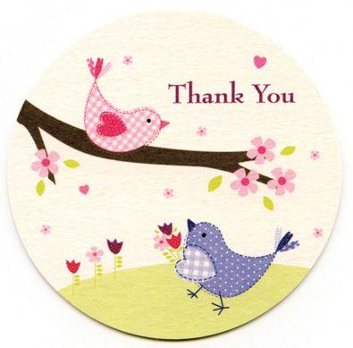 Tweet Thank You Cards